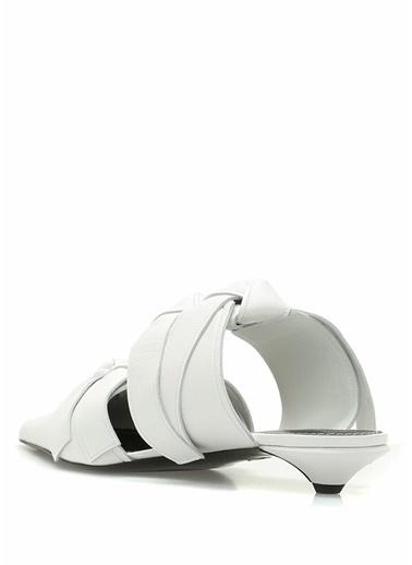 Proenza Schouler Terlik Beyaz